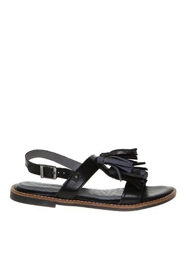 Hush Puppies Sandalet Siyah